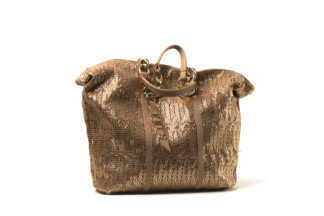 Sommer-Shopper in bronze.