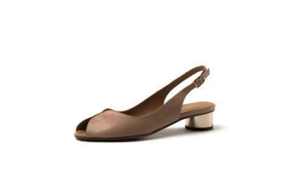 Weiche Sandale in nude von MdF.