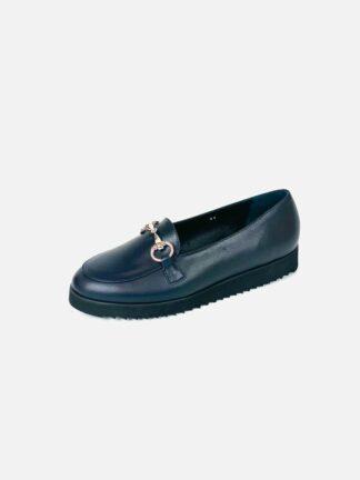 Trotteur Leder in blau sehr leicht und bequem.